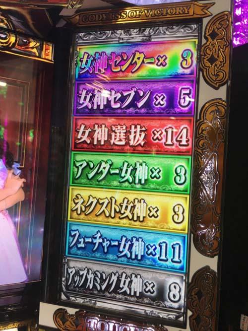 なんかそろそろフリーズ引ける気がしてきたわ★ぱちスロAKB48勝利の女神画像