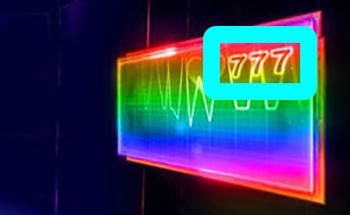 心電図の数字画像